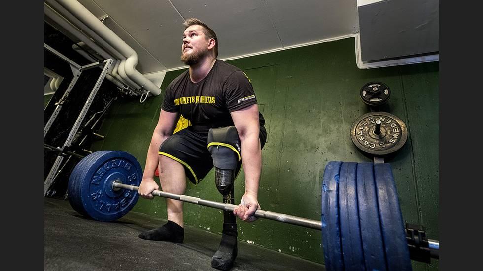 Starkast på gymmet – mot alla odds
