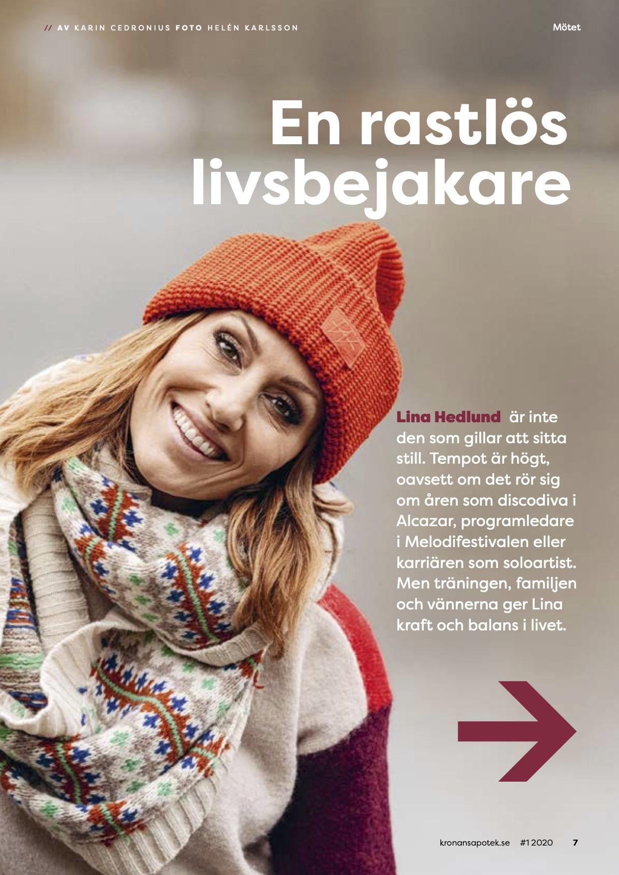 Lina Hedlund om träning