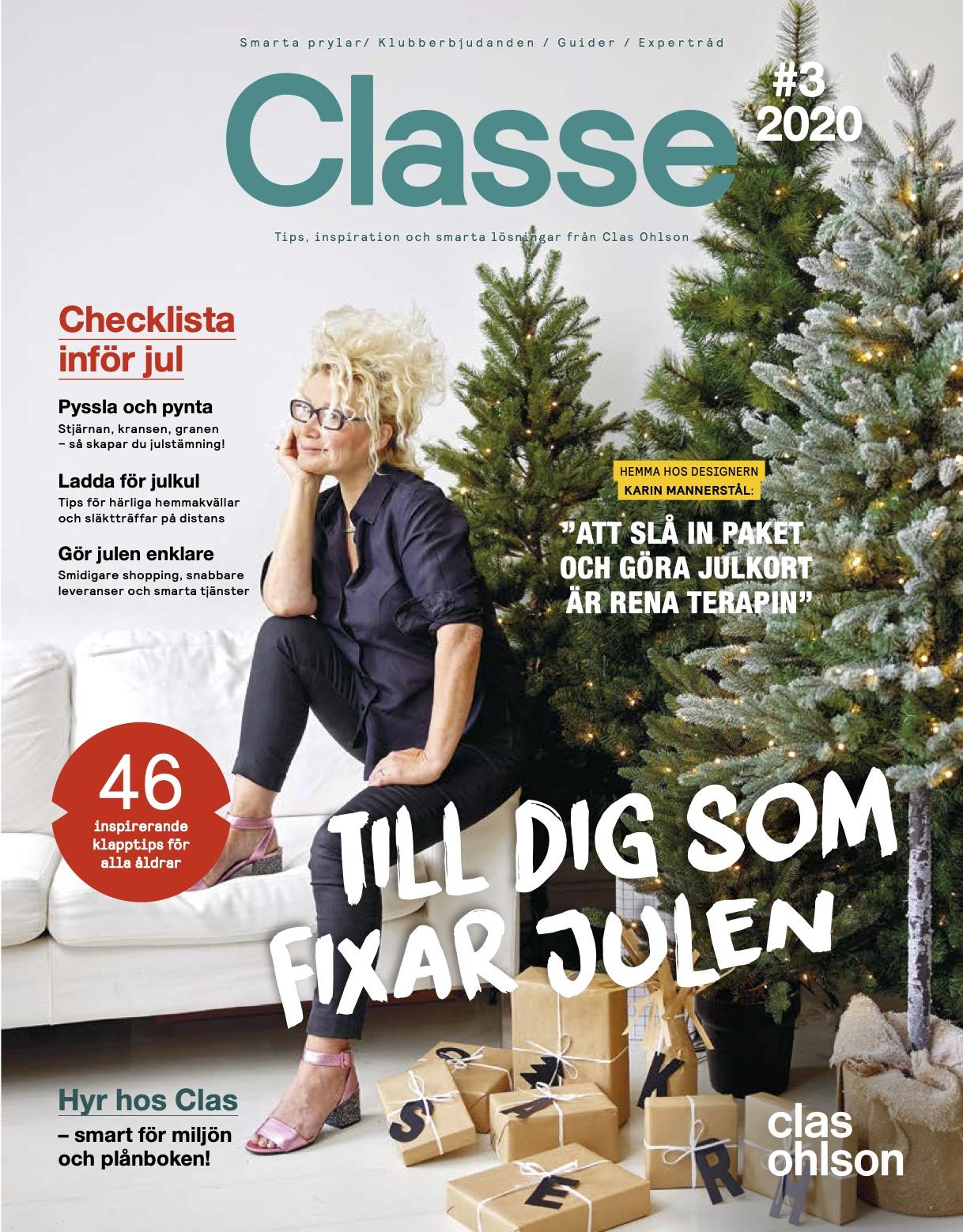 Paketälskaren som inte gillar att fira jul – omslagsreportage Classe