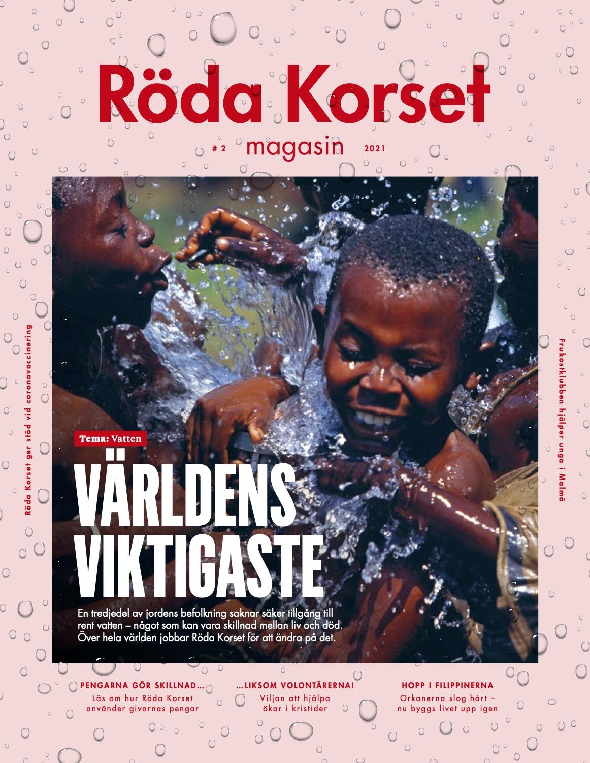 Ökat intresse för volontärarbete – artikel i Röda korsets tidning